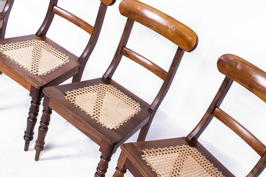 Fine cane chairs